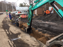 水道本管入替え工事